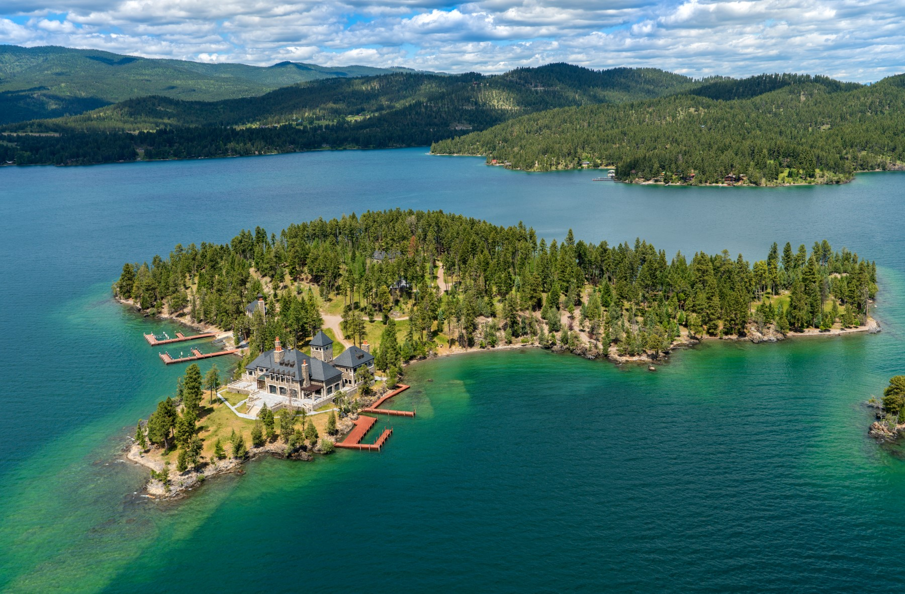 Private Island for Sale at Montana's Shelter Island Estate Rollins, Montana 59931 United States