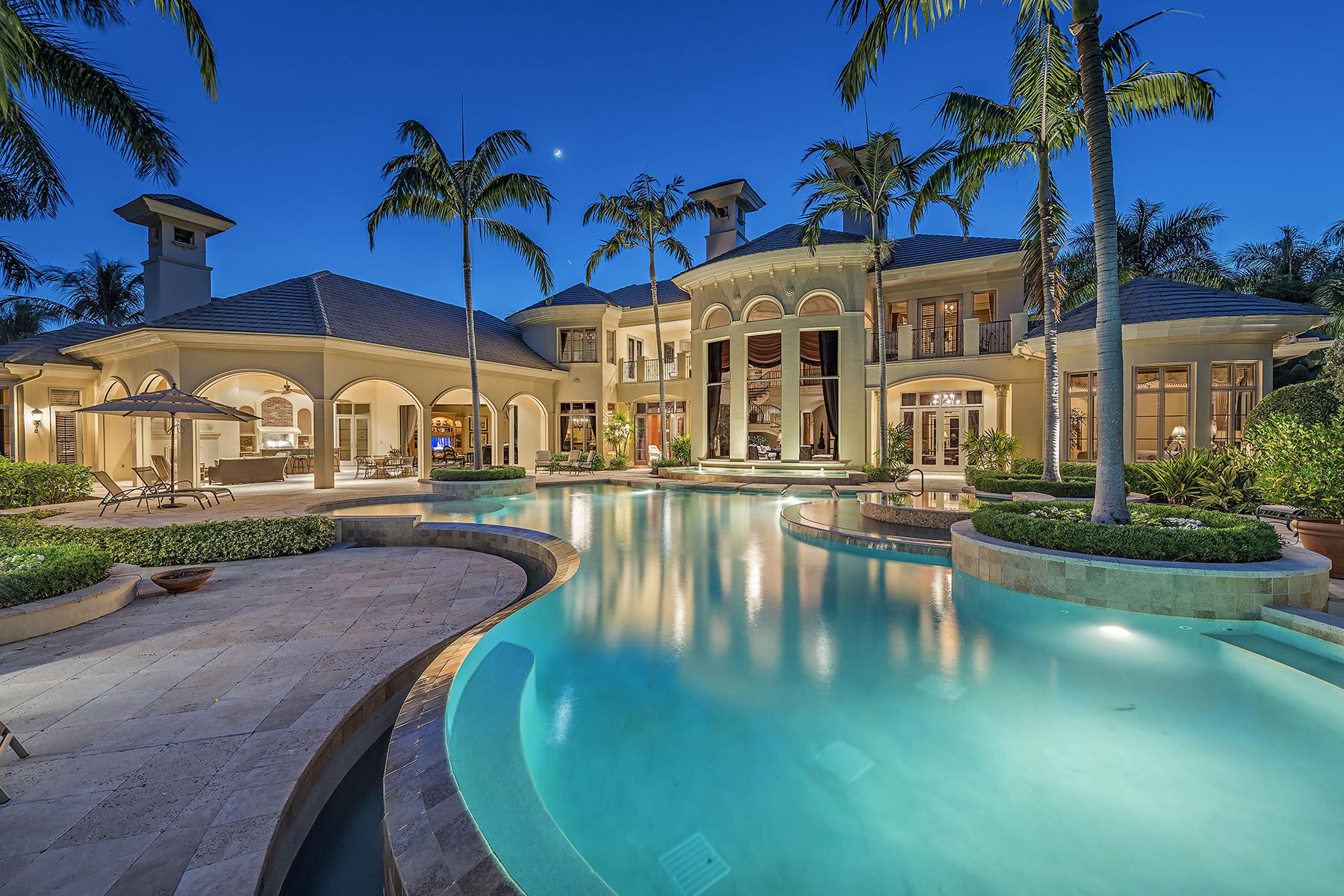Maison unifamiliale pour l Vente à 1420 Nighthawk Pt , Naples, FL 34105 1420 Nighthawk Pt Estuary At Grey Oaks, Naples, Florida, 34105 États-Unis