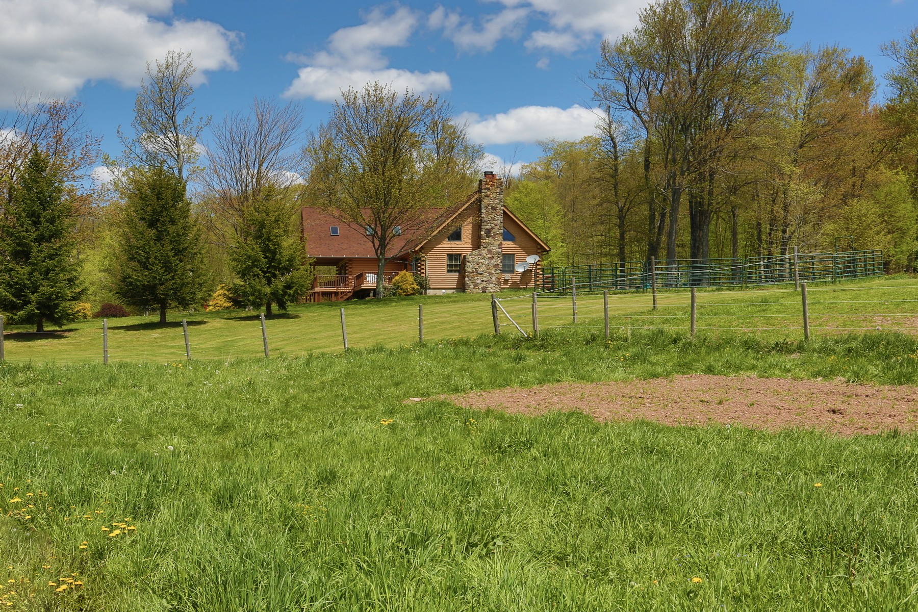 Additional photo for property listing at Secluded Gentleman's Farm 1206  Flax Island Rd Otego, New York 13825 United States