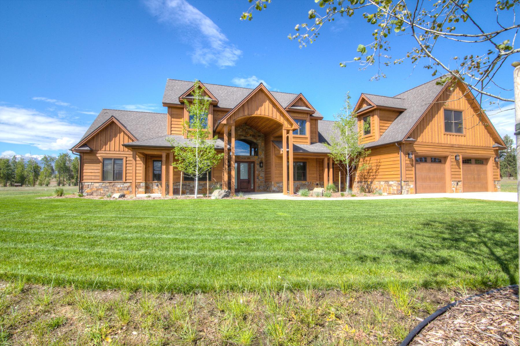 Maison unifamiliale pour l Vente à Burr Creek Ranch 326 Hillside Ranch Road Victor, Montana, 59875 États-Unis