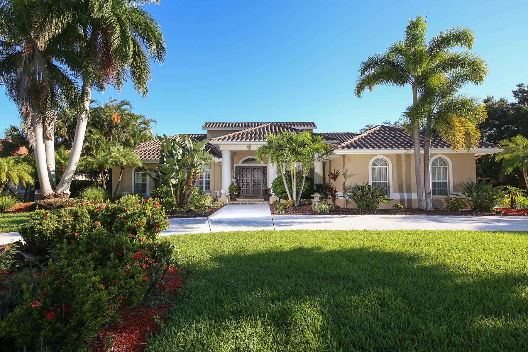 独户住宅 为 销售 在 PRESTANCIA 3799 Boca Pointe Dr 萨拉索塔, 佛罗里达州, 34238 美国
