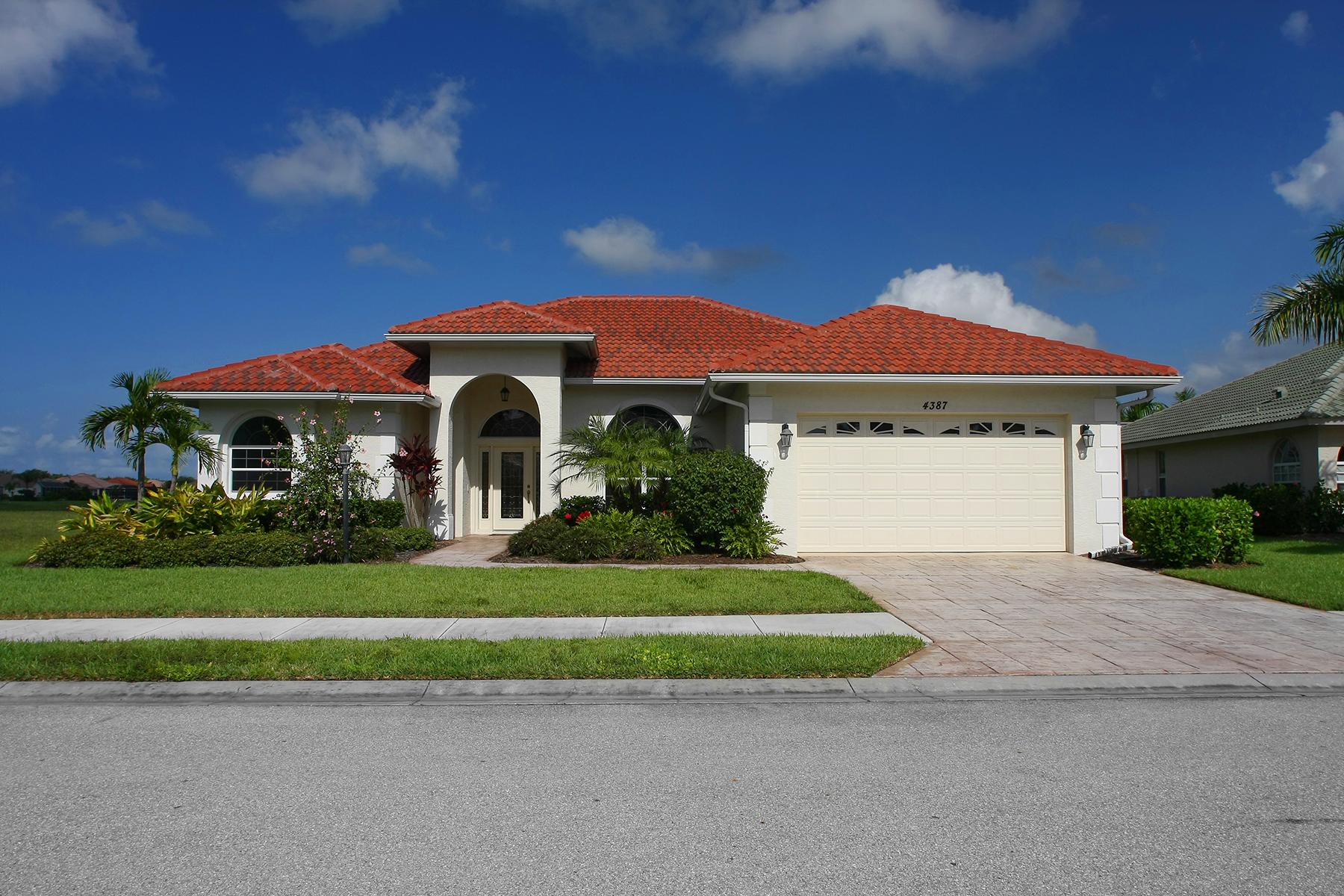 Single Family Home for Sale at VENETIA 4387 Via Del Villetti Dr Venice, Florida, 34293 United States
