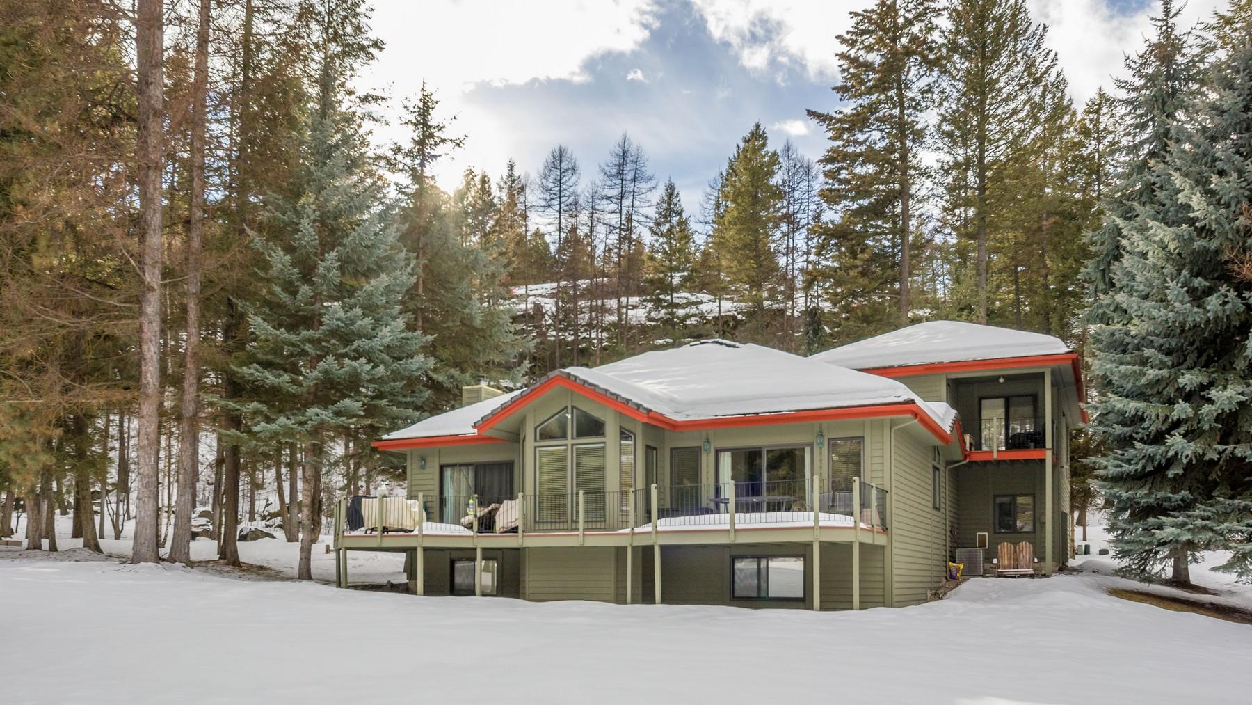 Casa para uma família para Venda às 163 Golf Terrace , Bigfork, MT 59911 163 Golf Terr Bigfork, Montana, 59911 Estados Unidos