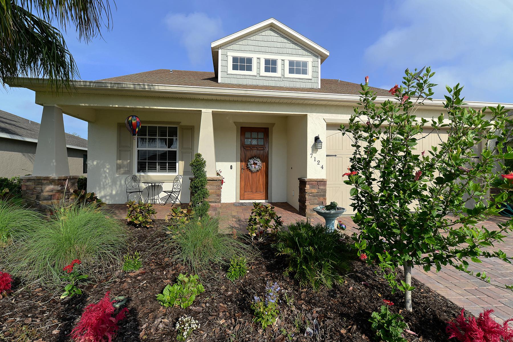 Maison unifamiliale pour l Vente à COTTAGES AT BLU VISTA 7124 34th St E Sarasota, Florida, 34243 États-Unis