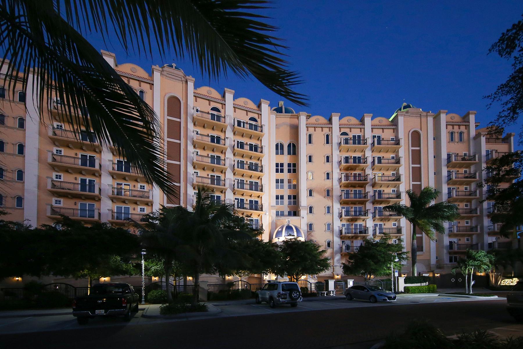 콘도미니엄 용 매매 에 LA BELLASARA 464 Golden Gate Pt 703 Sarasota, 플로리다, 34236 미국