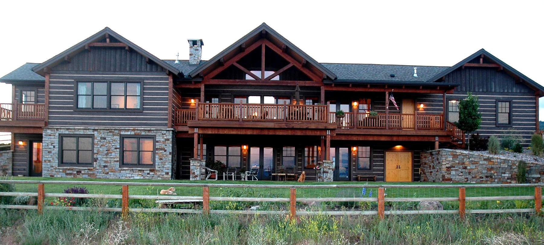 Single Family Home for Sale at Sapphire Ridge Ranch 2062 Hawks Peak Dr Florence, Montana 59833 United States