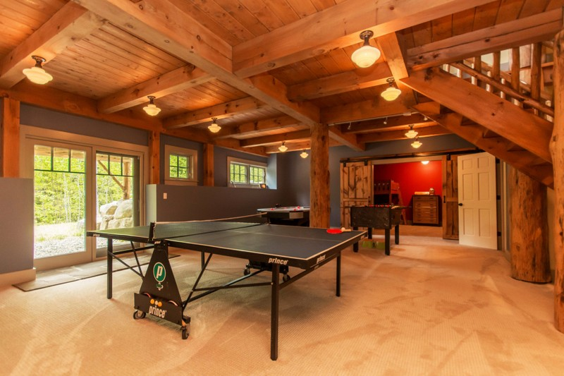 Additional photo for property listing at Traditional Pine Timber Framed Home 51  Mountain Path North Creek, New York 12853 United States