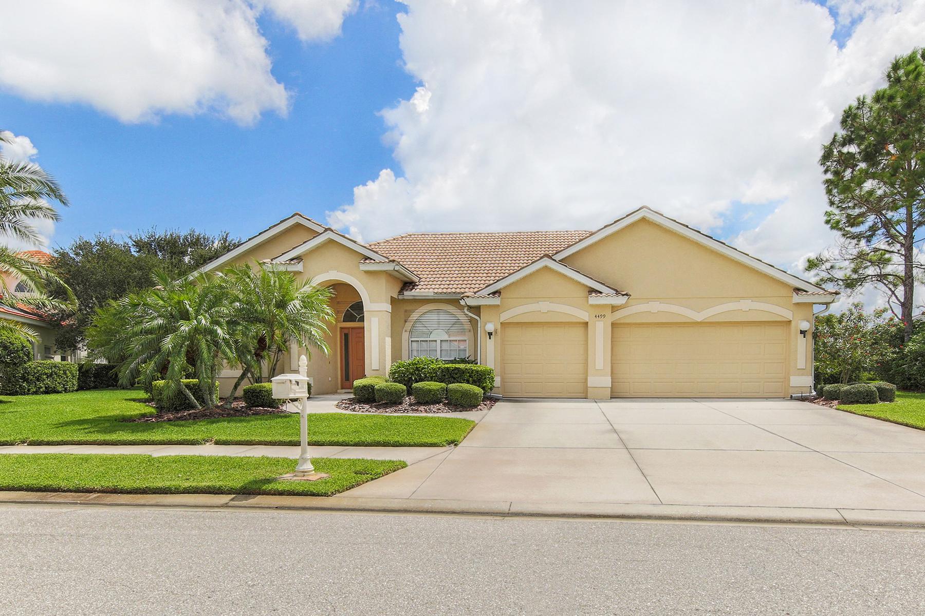 Maison unifamiliale pour l Vente à HERITAGE OAKS GOLF AND COUNTRY CLUB 4499 Chase Oaks Dr Sarasota, Florida, 34241 États-Unis