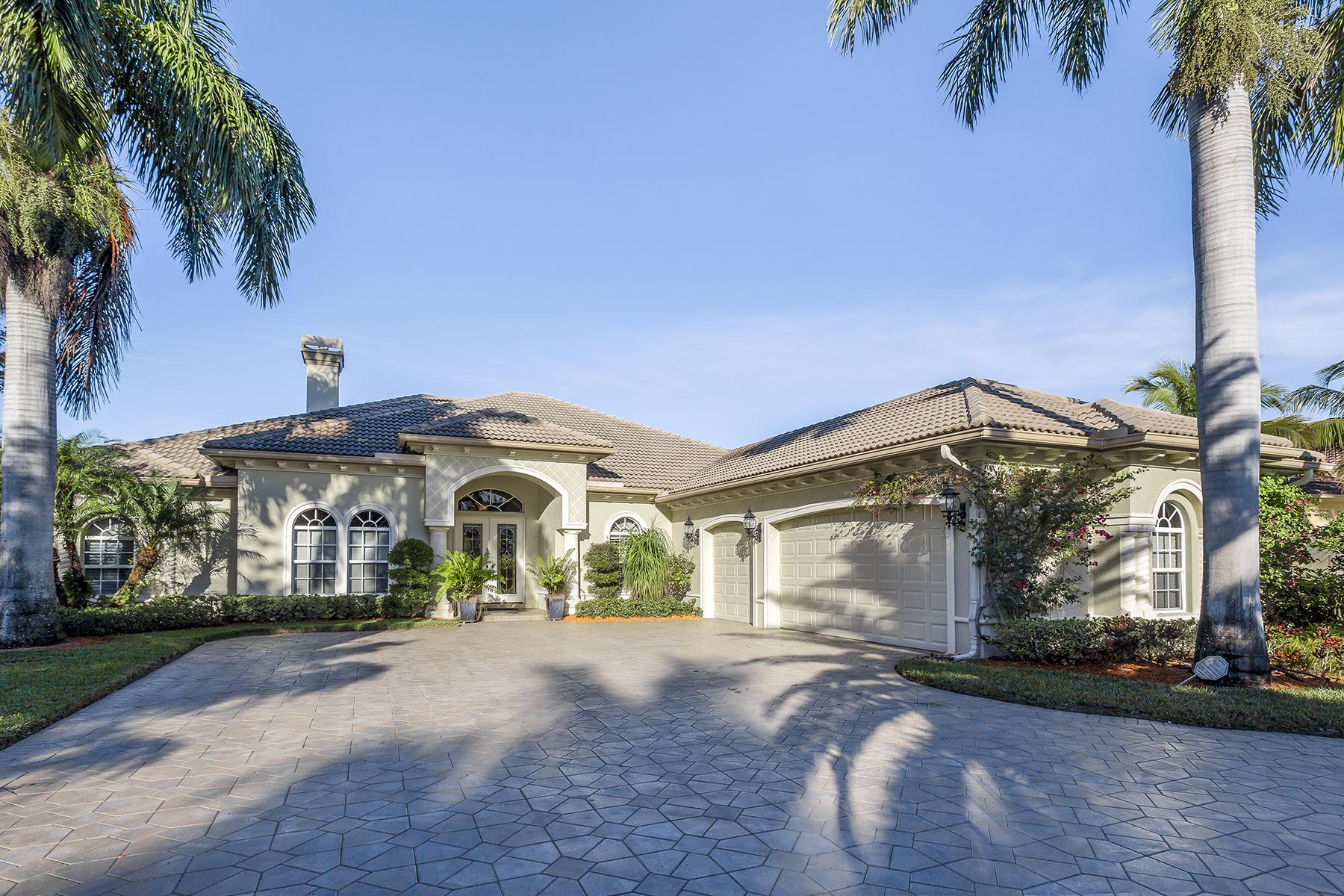 Casa Unifamiliar por un Venta en LELY RESORT - CLASSICS PLANTATION ESTATES 7619 Palmer Ct Naples, Florida, 34113 Estados Unidos