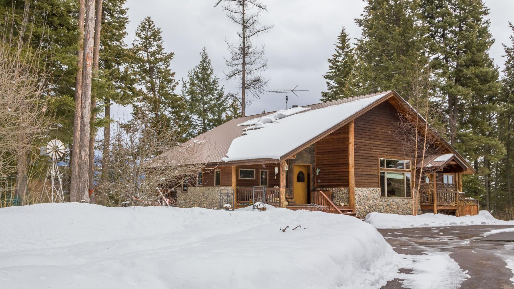 Einfamilienhaus für Verkauf beim 1014 La Brant Rd , Bigfork, MT 59911 1014 La Brant Rd Bigfork, Montana, 59911 Vereinigte Staaten