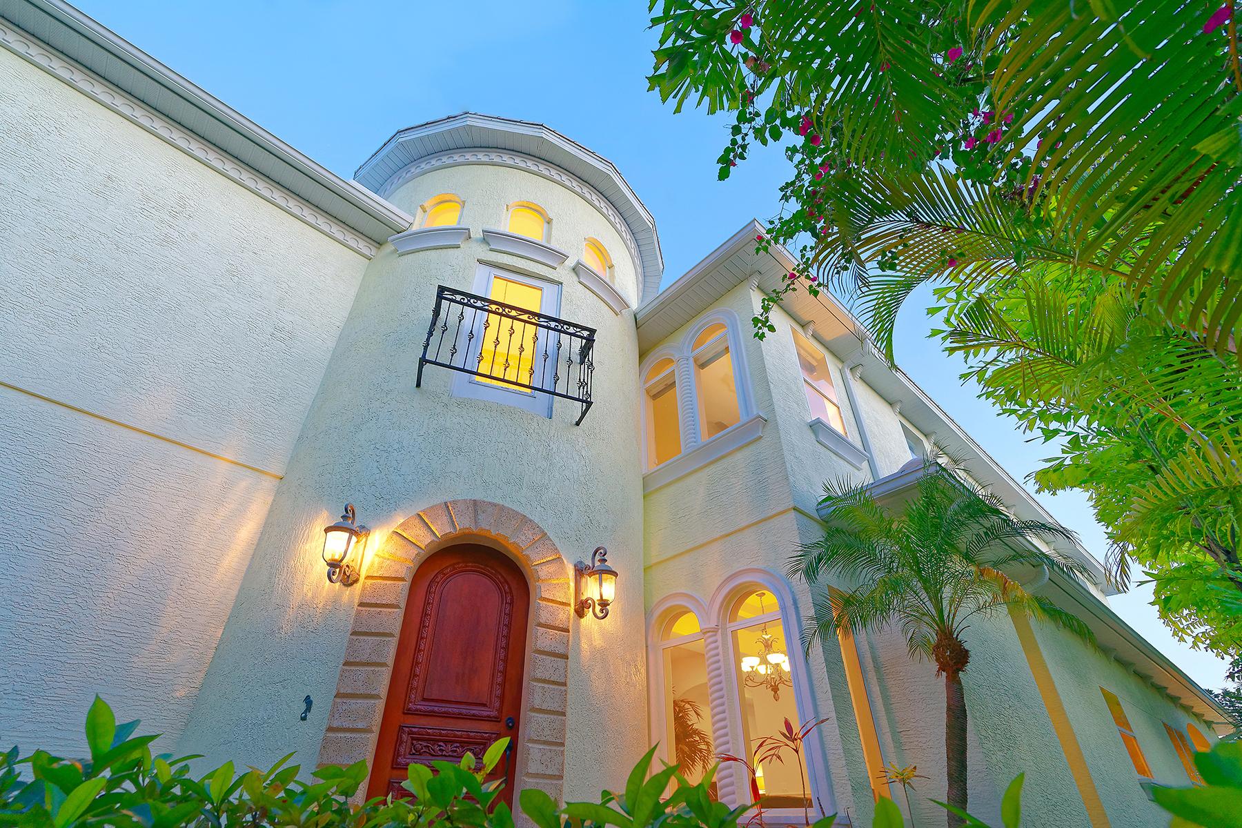 Casa para uma família para Venda às SARASOTA 353 S Washington Dr Sarasota, Florida, 34236 Estados Unidos
