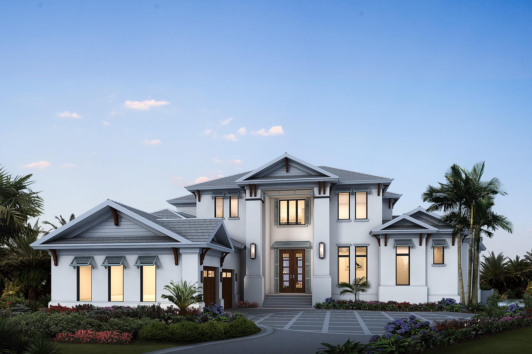 独户住宅 为 销售 在 PARK SHORE 306 Neapolitan Way 那不勒斯, 佛罗里达州, 34103 美国