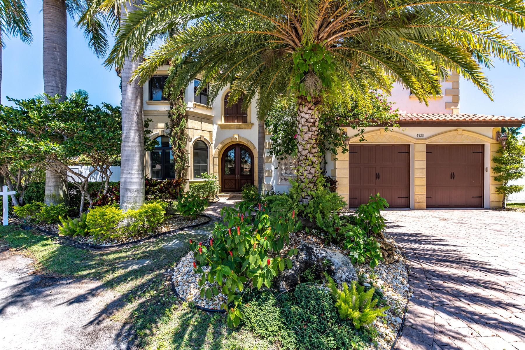 Tek Ailelik Ev için Satış at 4930 NE 27th Terr , Lighthouse Point, FL 33064 Lighthouse Point, Florida, 33064 Amerika Birleşik Devletleri