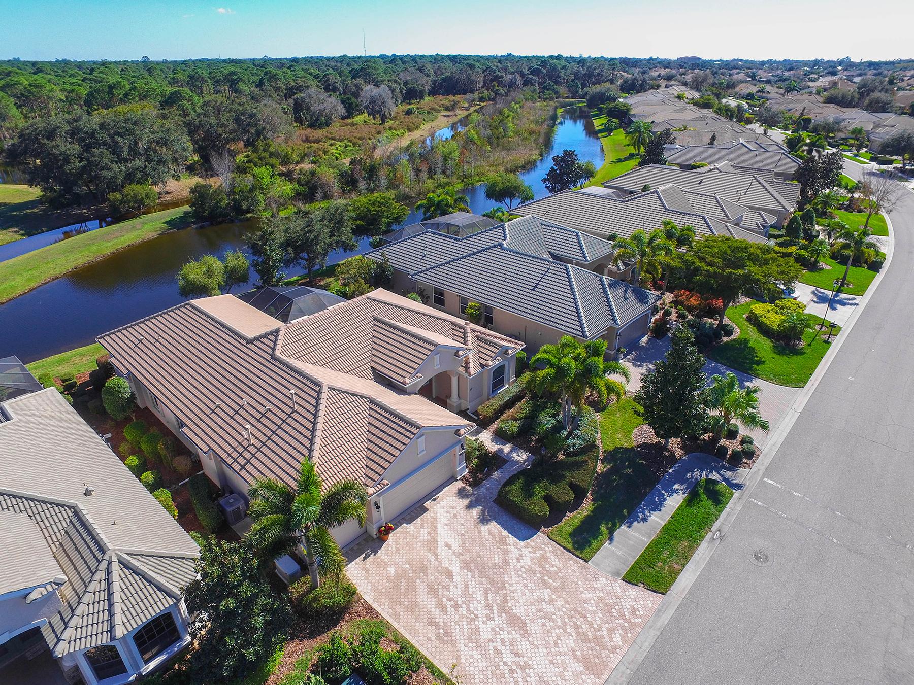 獨棟家庭住宅 為 出售 在 WILLOWBEND 680 Crane Prairie Way Osprey, 佛羅里達州, 34229 美國
