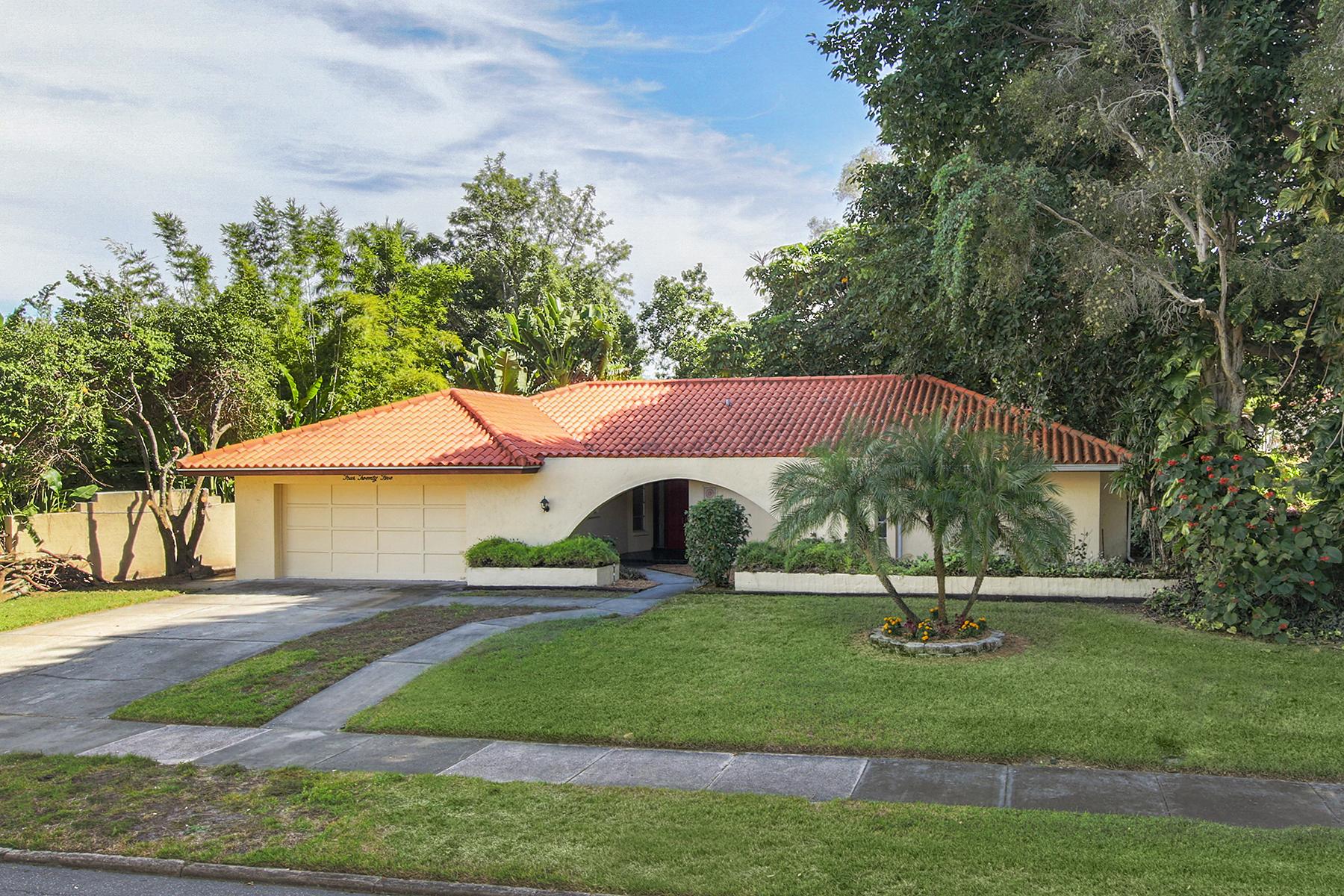 Casa Unifamiliar por un Venta en VENEZIA PARK - VENICE ISLAND 425 Harbor Dr S Venice, Florida, 34285 Estados Unidos