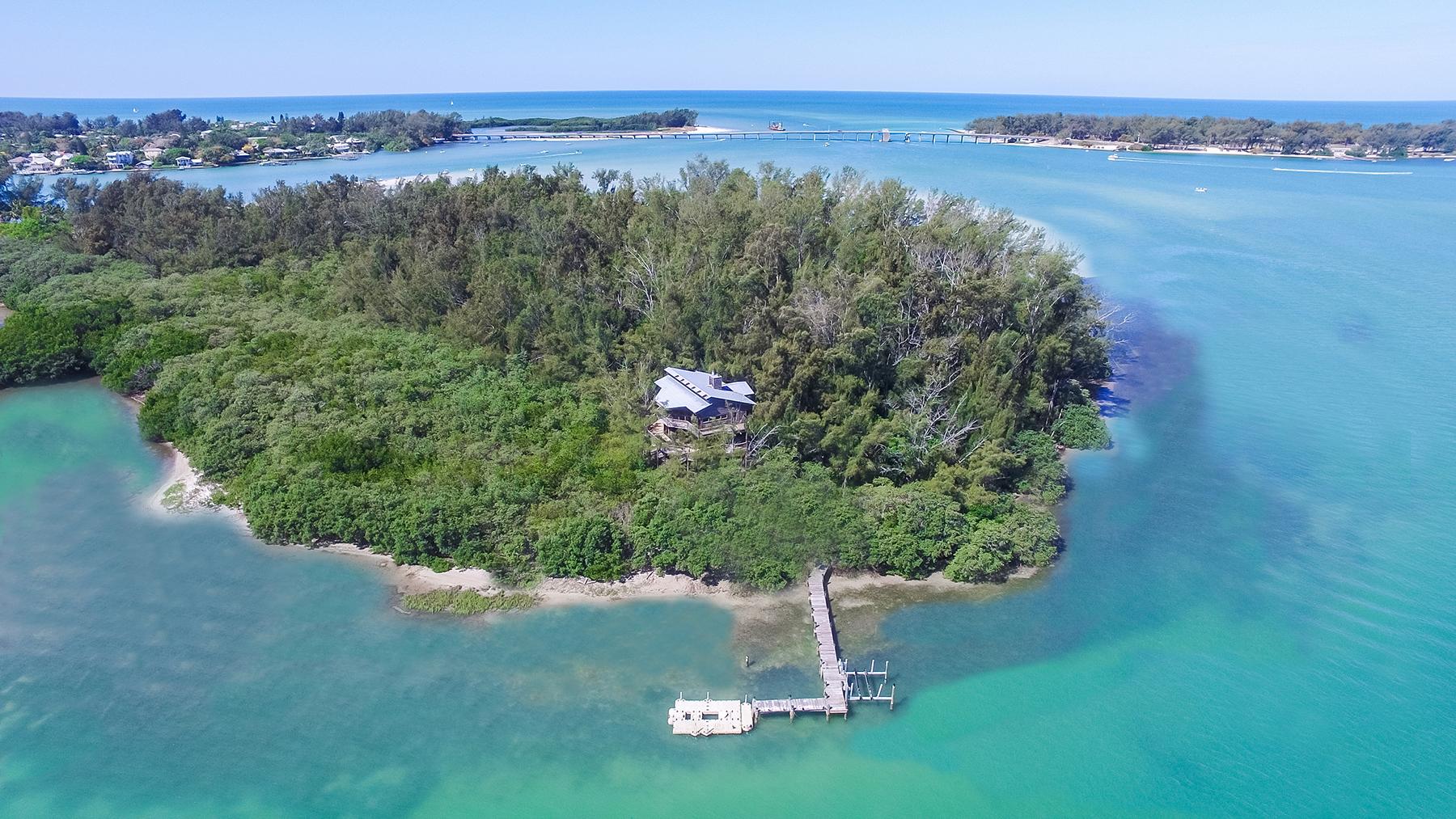 Moradia para Venda às JEWFISH KEY 7140 La Lenaire Dr Longboat Key, Florida, 34228 Estados Unidos