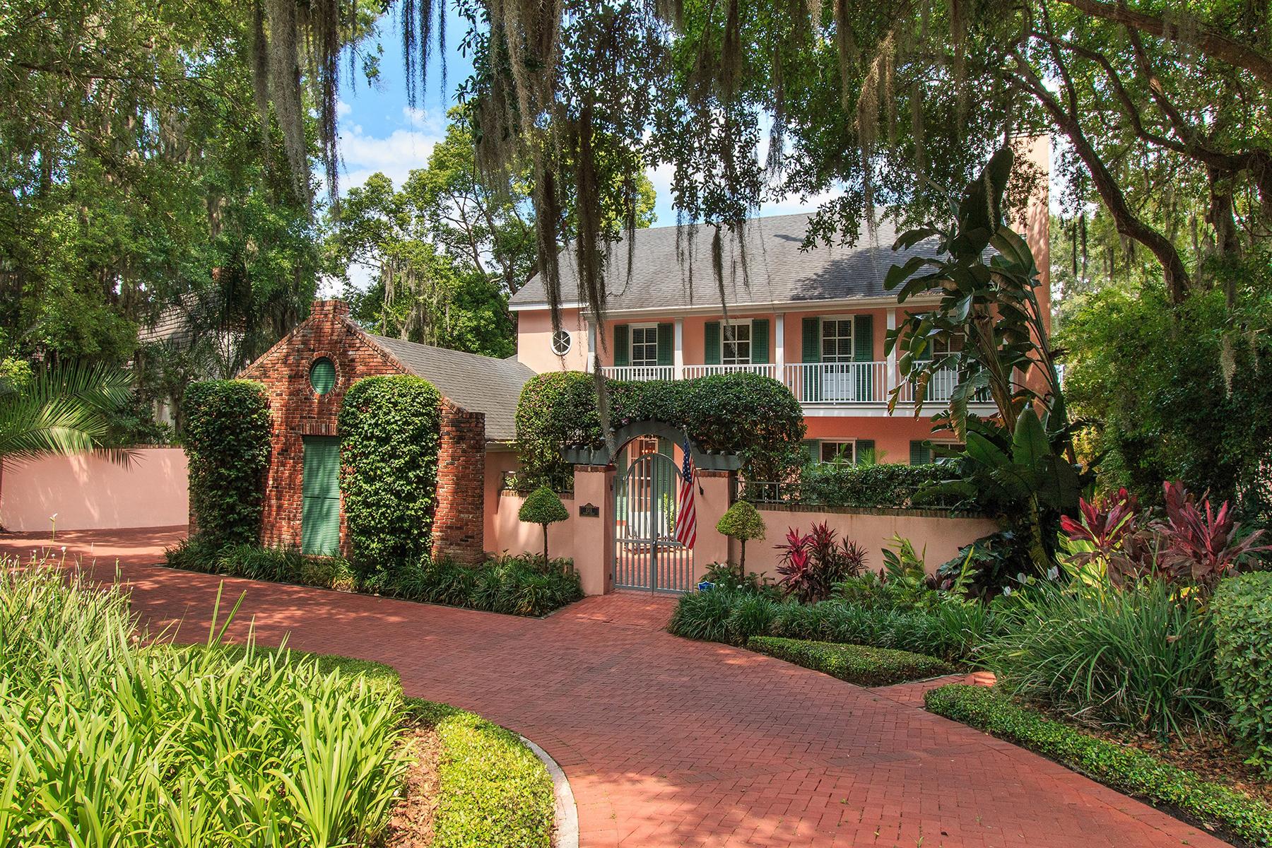 Частный односемейный дом для того Продажа на 1511 Harris Cir , Winter Park, FL 32789 1511 Harris Cir Winter Park, Флорида, 32789 Соединенные Штаты