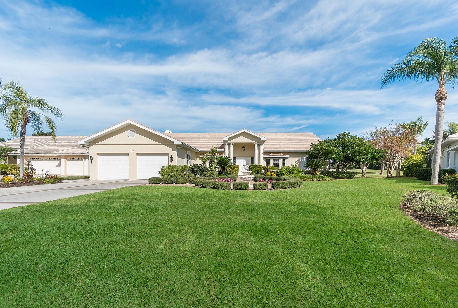 独户住宅 为 销售 在 LINKS AT PALM AIRE 7313 Links Ct 萨拉索塔, 佛罗里达州, 34243 美国
