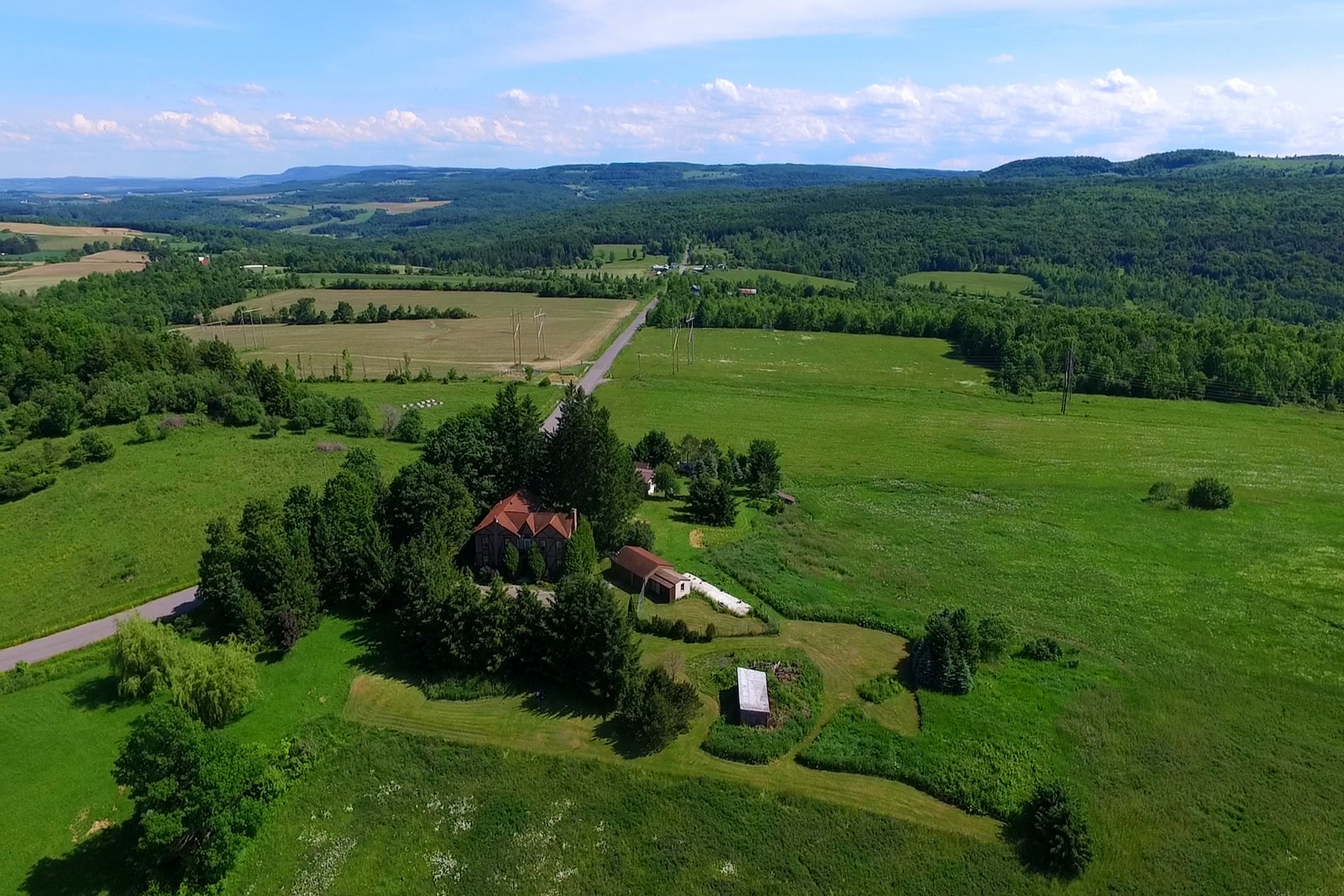 Single Family Home for Sale at Beautiful Manor Home 295 Fiery Hill Rd Fort Plain, New York 13339 United States