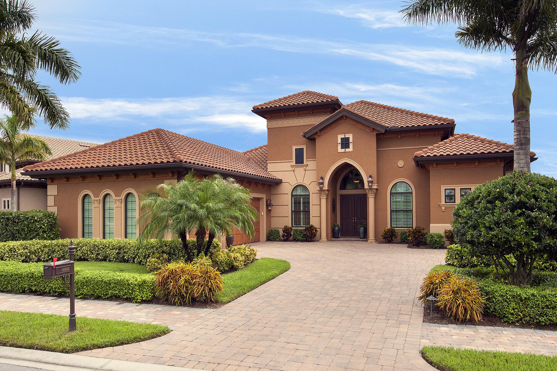 Maison unifamiliale pour l Vente à LELY RESORT - LAKOYA 6502 Carema Ln Naples, Florida, 34113 États-Unis