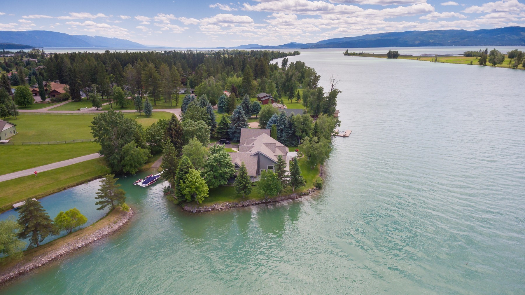 Single Family Home for Sale at 181 McDowell 181 Mcdowell Dr Bigfork, Montana 59911 United States