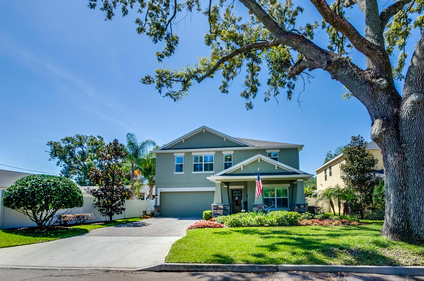 独户住宅 为 销售 在 ORLANDO 418 Hazel Ct 奥兰多, 佛罗里达州, 32804 美国