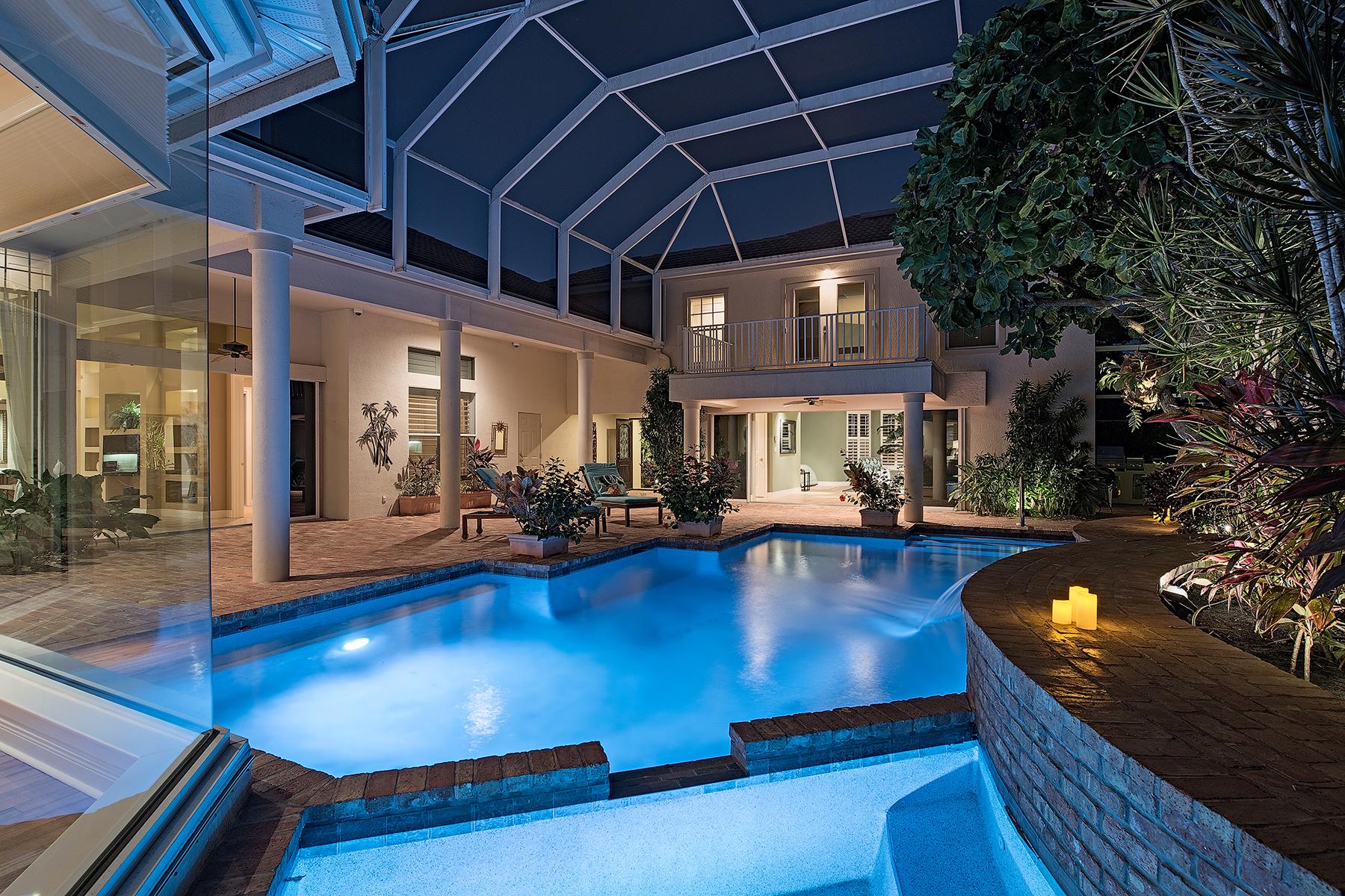 단독 가정 주택 용 매매 에 ANCHORAGE AT BONITA BAY 27508 Riverbank Dr Bonita Springs, 플로리다, 34134 미국