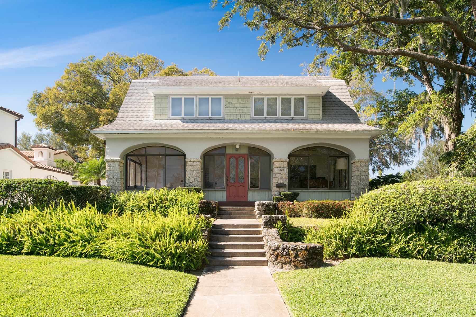 Частный односемейный дом для того Продажа на 1167 Lakeview Dr , Winter Park, FL 32789 1167 Lakeview Dr Winter Park, Флорида, 32789 Соединенные Штаты