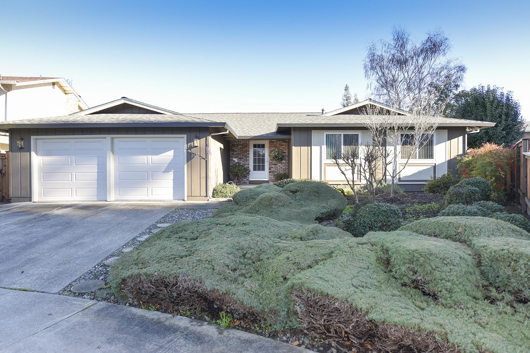 sales property at 2651 Basswood Ct, Napa, CA 94558