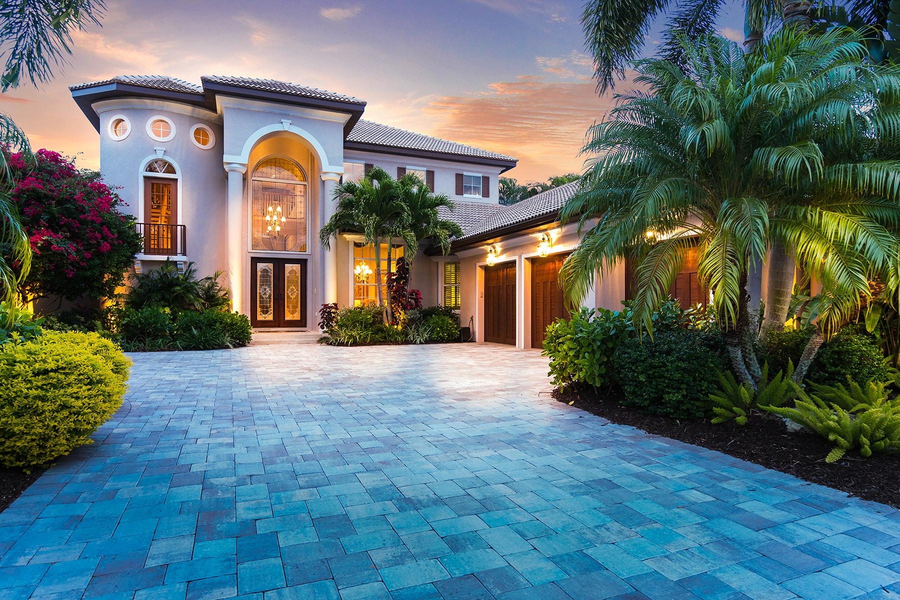 Casa Unifamiliar por un Venta en WATERLEFE 10411 Riverbank Terrace Bradenton, Florida, 34212 Estados Unidos