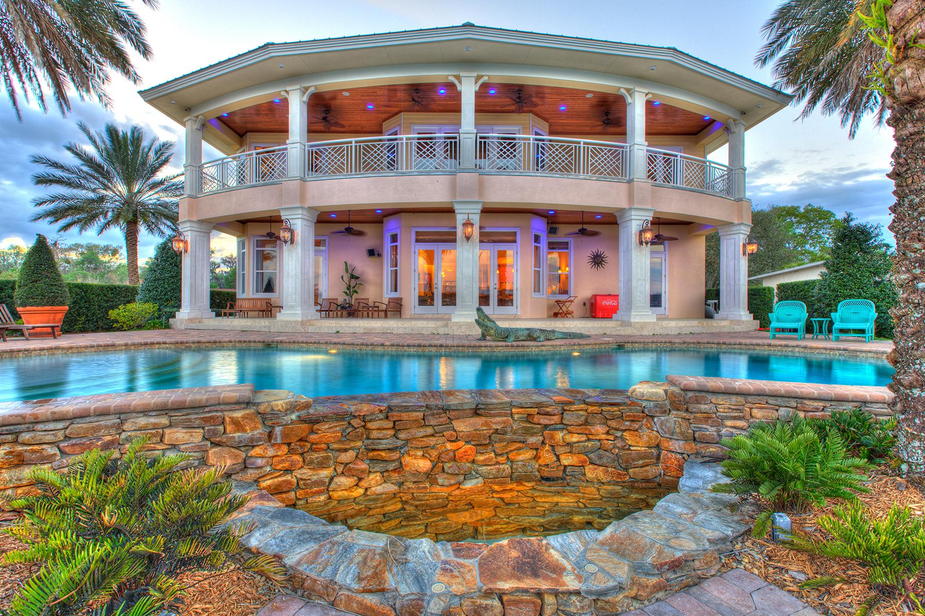 Maison unifamiliale pour l Vente à ASTOR FLORIDA 56230 Redbud Rd Astor, Florida, 32102 États-Unis