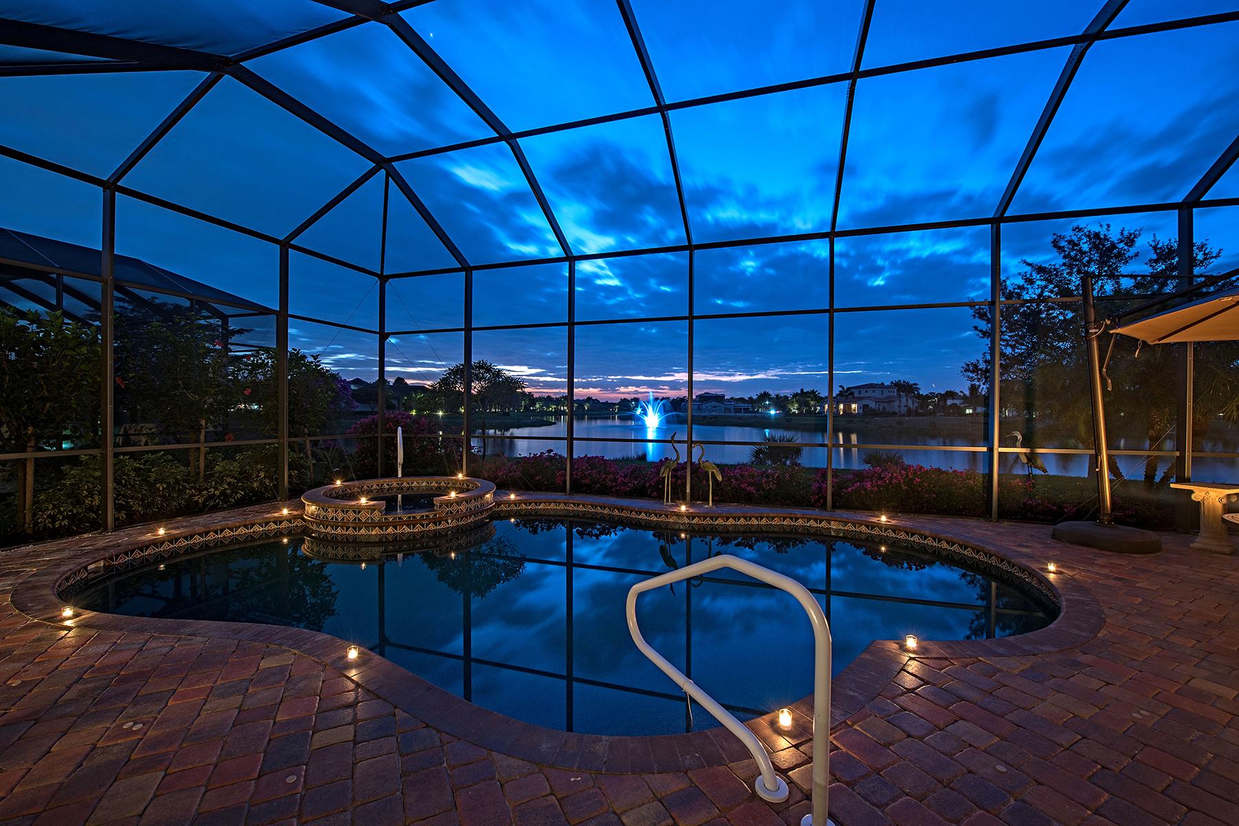 獨棟家庭住宅 為 出售 在 16725 Cabreo Dr , Naples, FL 34110 16725 Cabreo Dr Naples, 佛羅里達州, 34110 美國