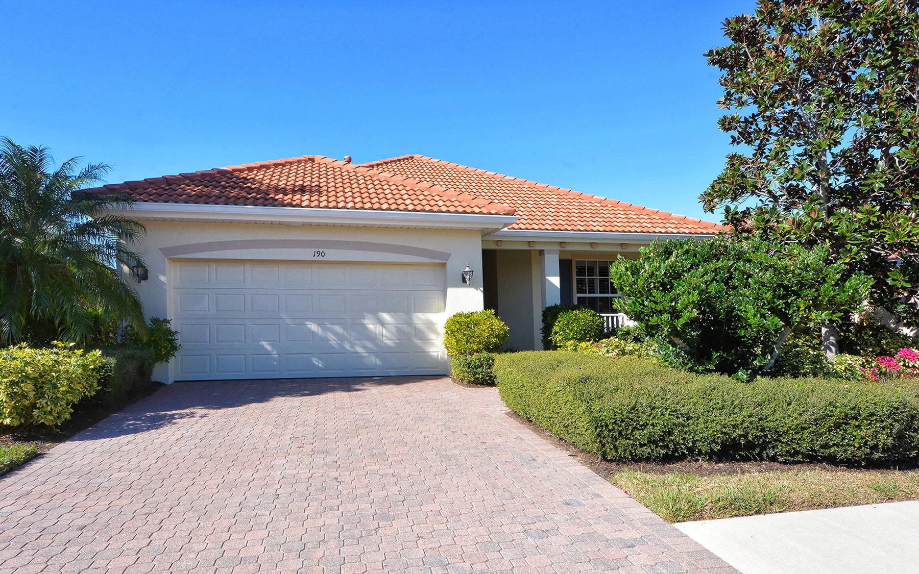 Casa para uma família para Venda às VENETIAN GOLF & RIVER CLUB 190 Treviso Ct North Venice, Florida, 34275 Estados Unidos