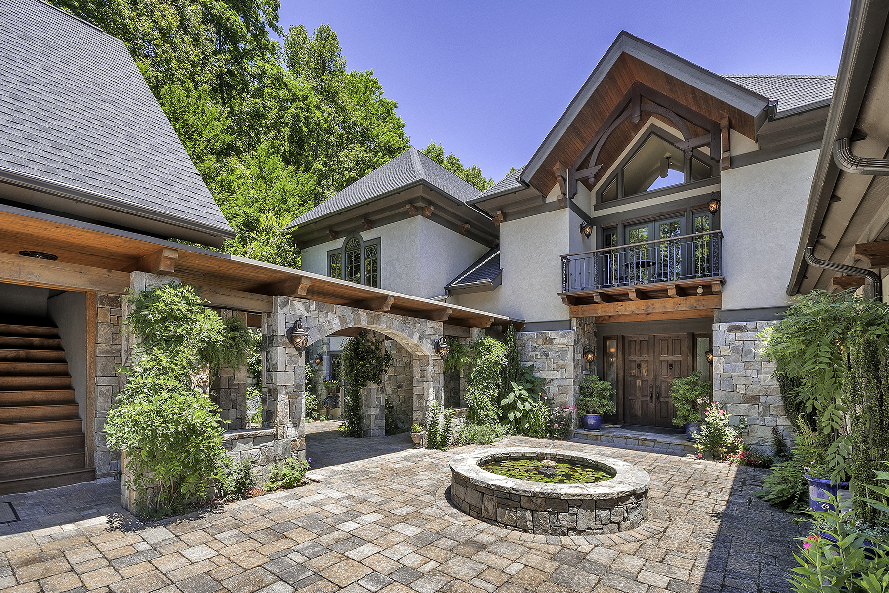 Single Family Home for Sale at OLETA FALLS 494 Overlook Park Dr Hendersonville, North Carolina, 28792 United States