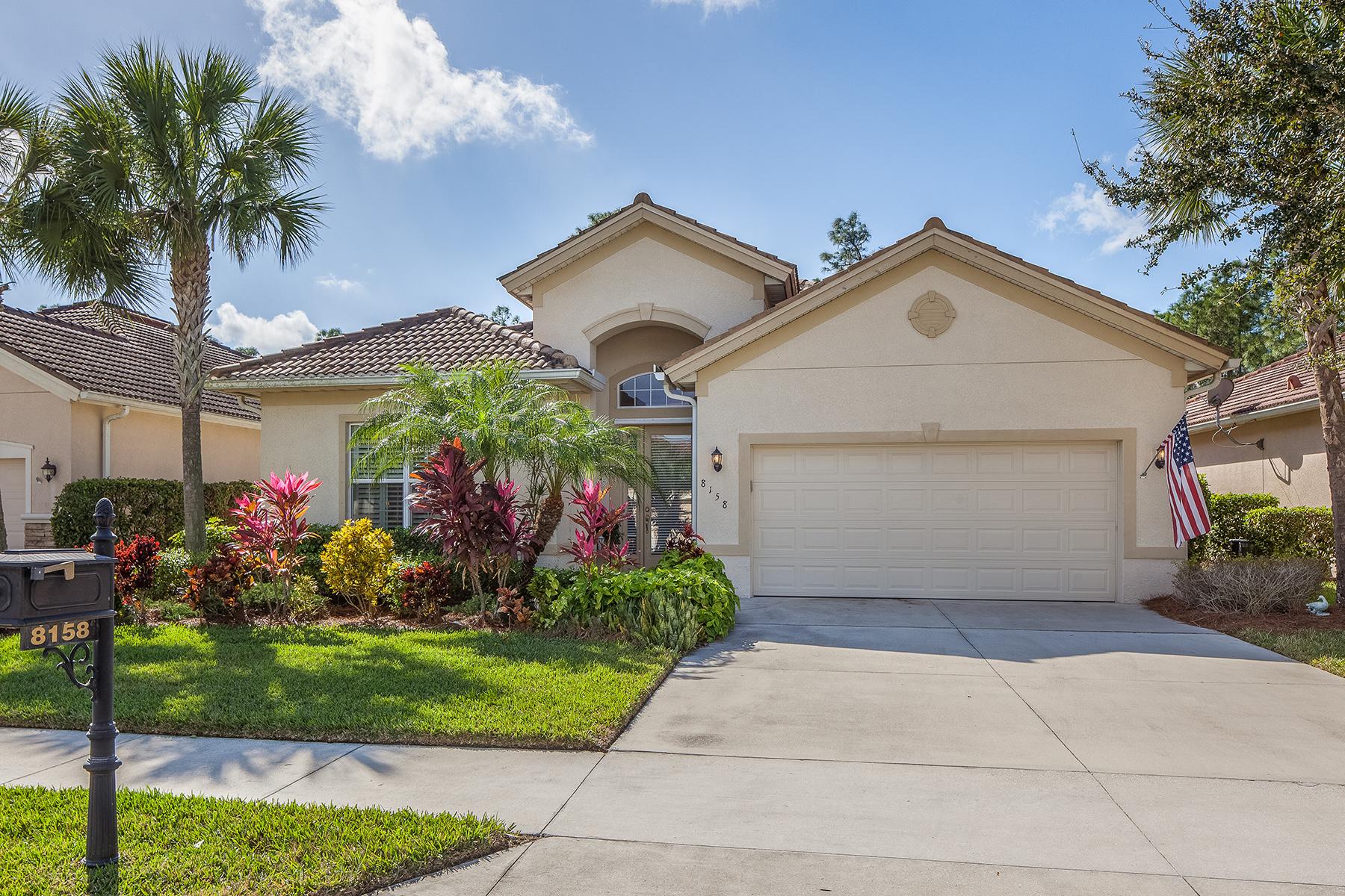 Casa Unifamiliar por un Venta en MADISON PARK 8158 Valiant Dr Naples, Florida, 34104 Estados Unidos