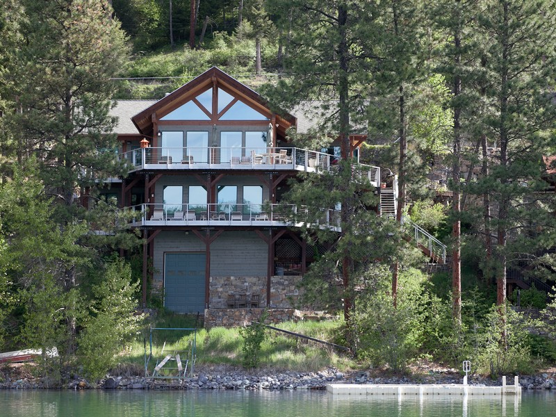 Single Family Home for Sale at Whitefish Lakefront Home 2818 Rest Haven Dr Whitefish Lake, Whitefish, Montana, 59937 United States