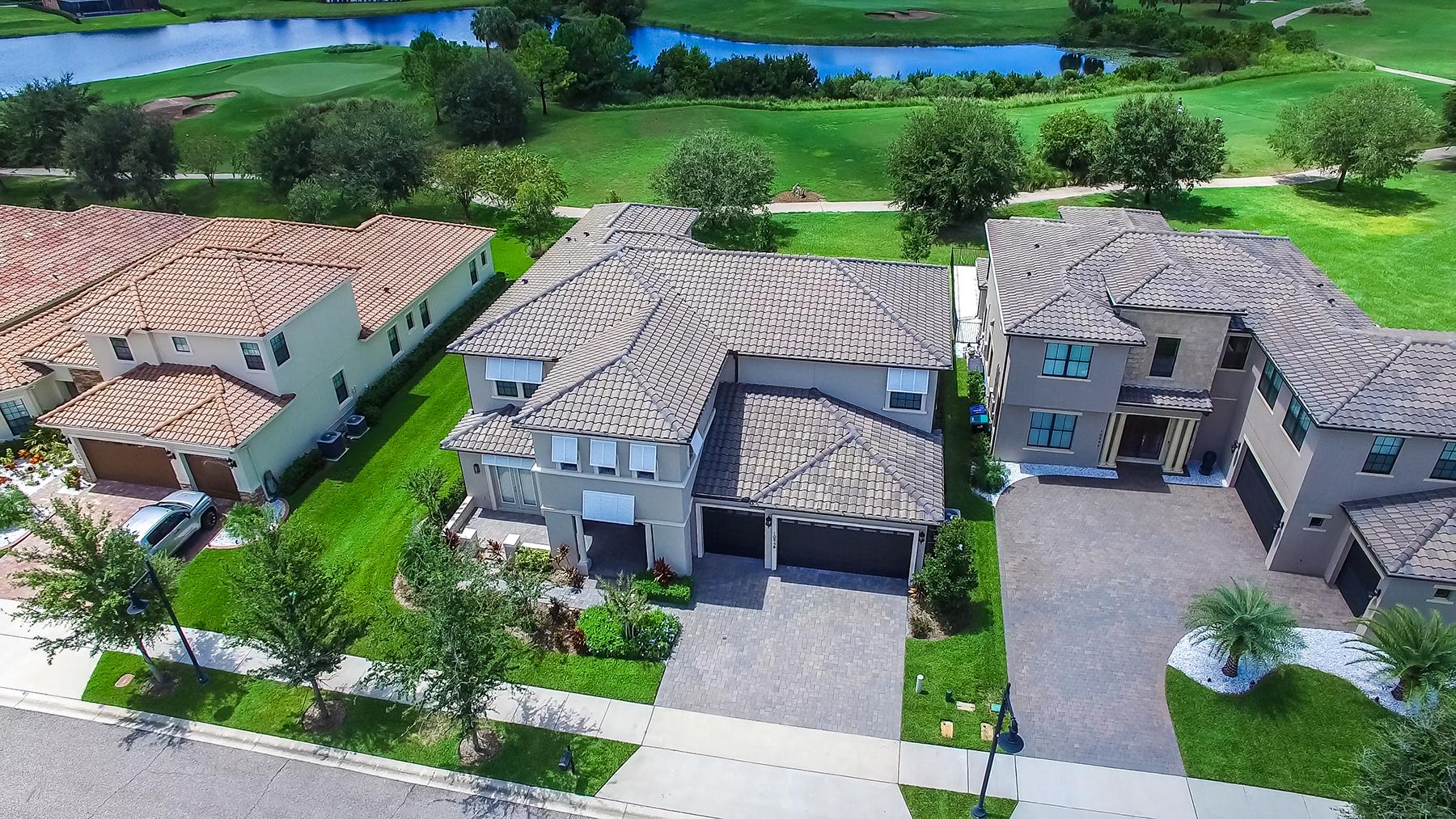 Single Family Home for Sale at LAKE NONA 10948 Mobberley Cir Orlando, Florida 32832 United States