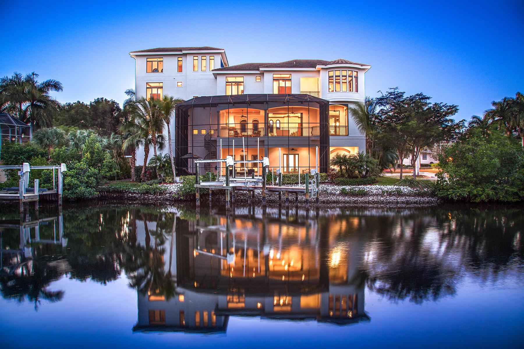Maison unifamiliale pour l Vente à Naples 240 Barefoot Beach Blvd Bonita Springs, Florida, 34134 États-Unis