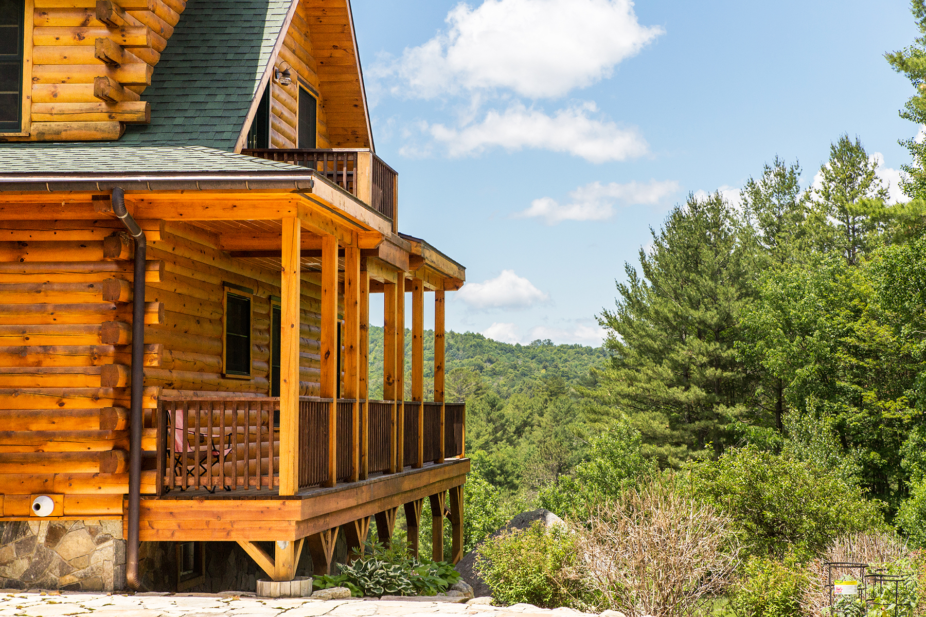 Additional photo for property listing at Private Hilltop Oasis 60  Leon Ln Stony Creek, New York 12878 États-Unis