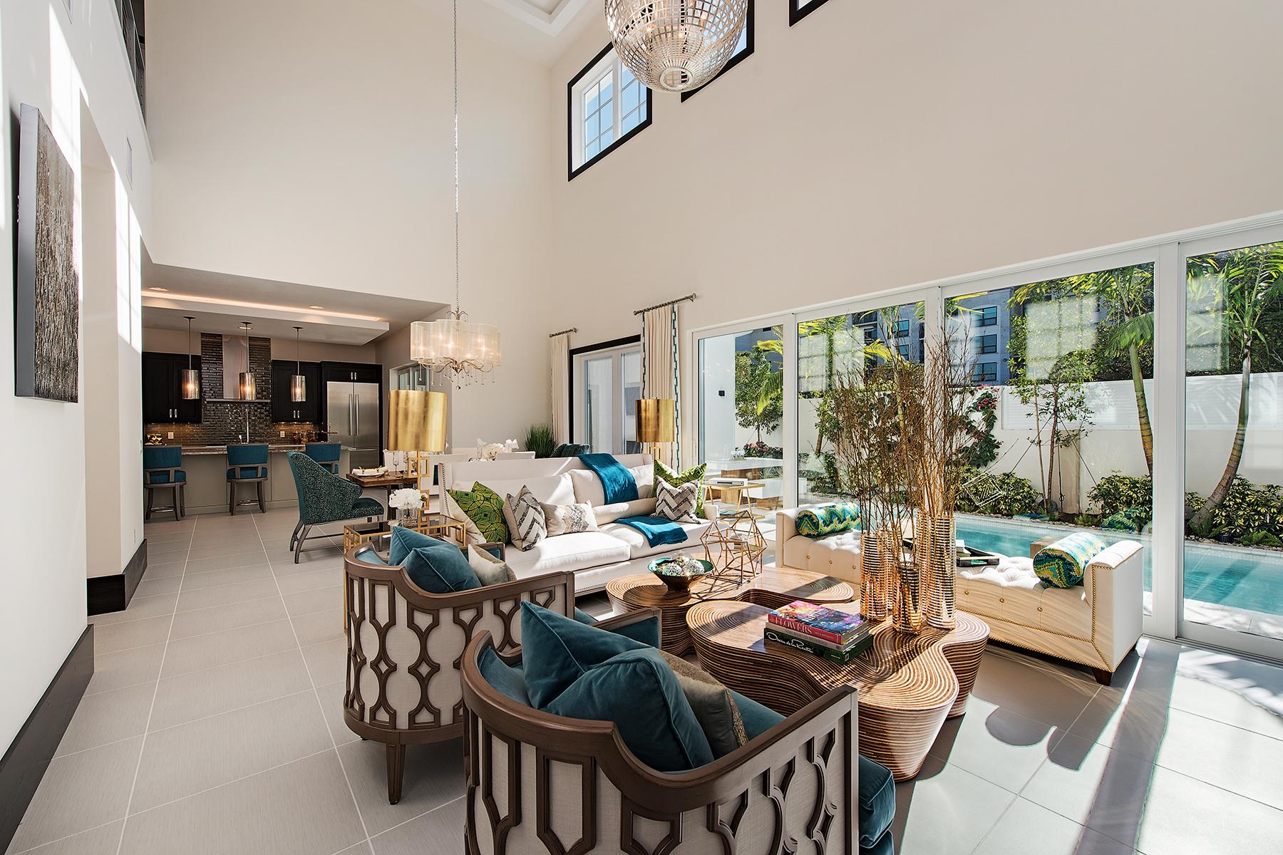 단독 가정 주택 용 매매 에 Naples 9214 Mercato Way Naples, 플로리다, 34108 미국