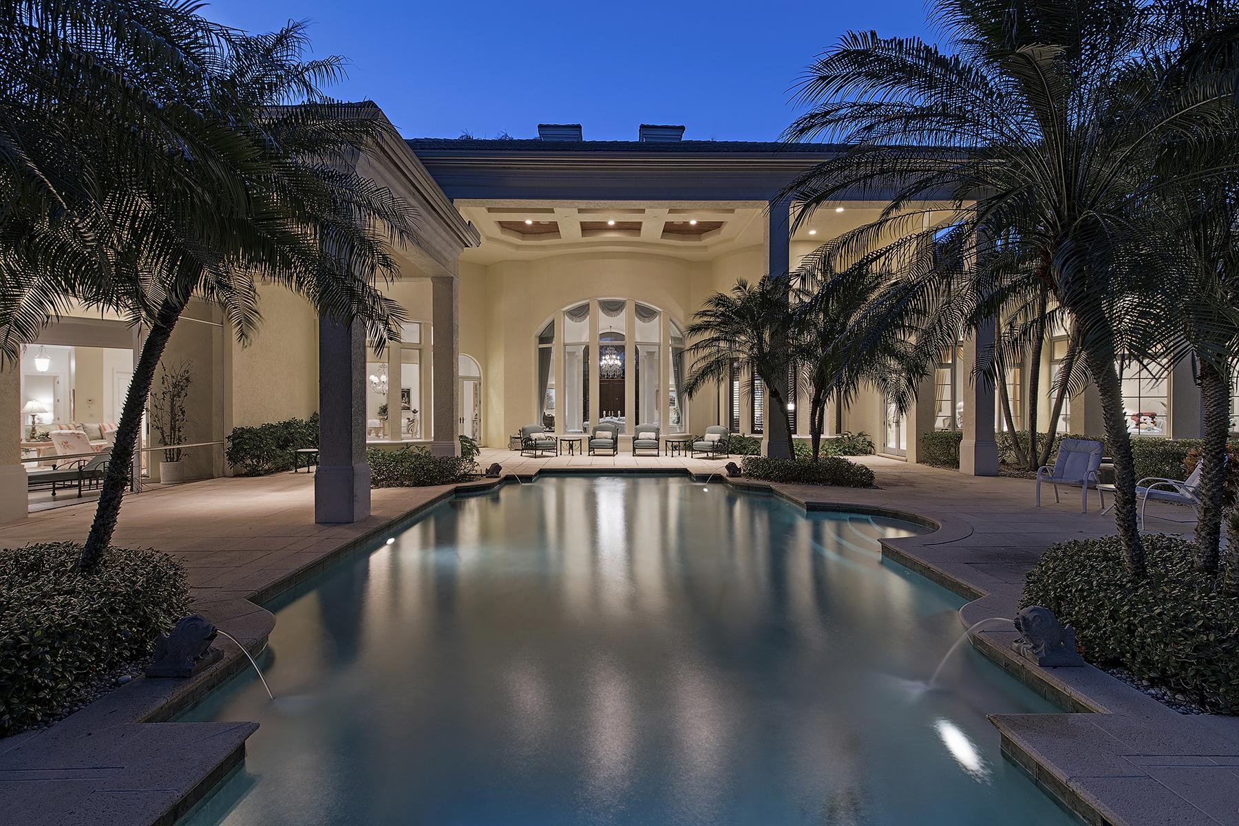 Casa Unifamiliar por un Venta en QUAIL WEST 4448 Wayside Dr Naples, Florida, 34119 Estados Unidos