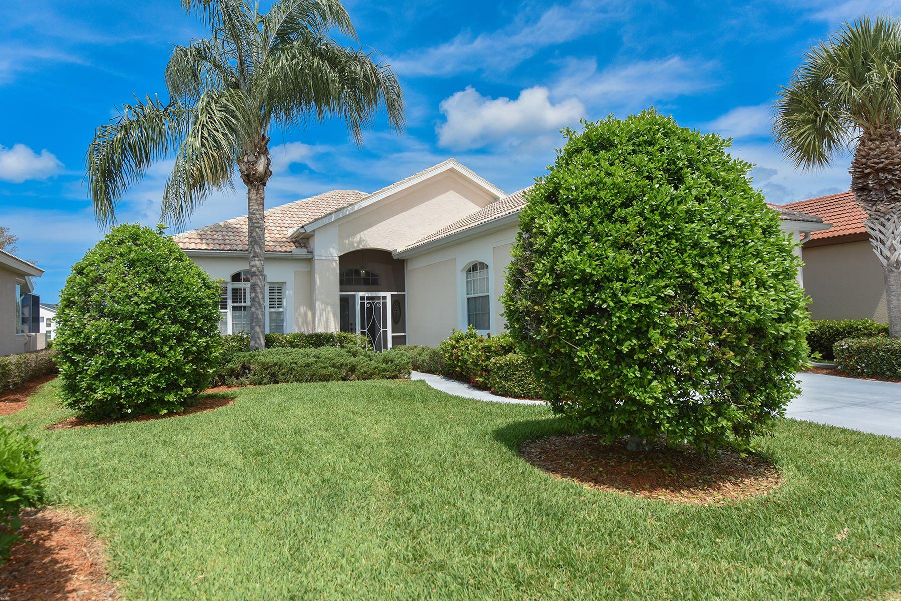 独户住宅 为 销售 在 SAWGRASS 653 Misty Pine Dr 威尼斯, 佛罗里达州, 34292 美国