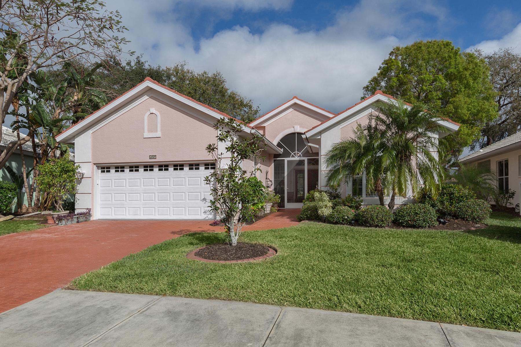 واحد منزل الأسرة للـ Sale في LAKES OF JACARANDA 609 Silk Oak Dr, Venice, Florida, 34293 United States