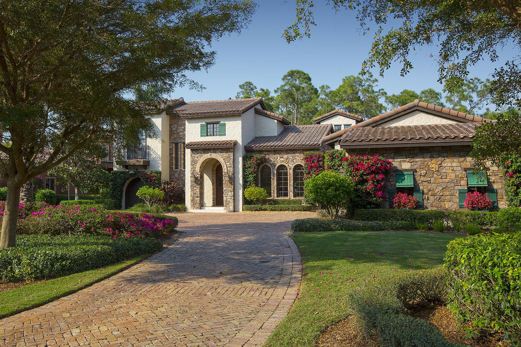 Single Family Home for Sale at MEDITERRA - PADOVA 15151 Brolio Ln, Naples, Florida 34110 United States