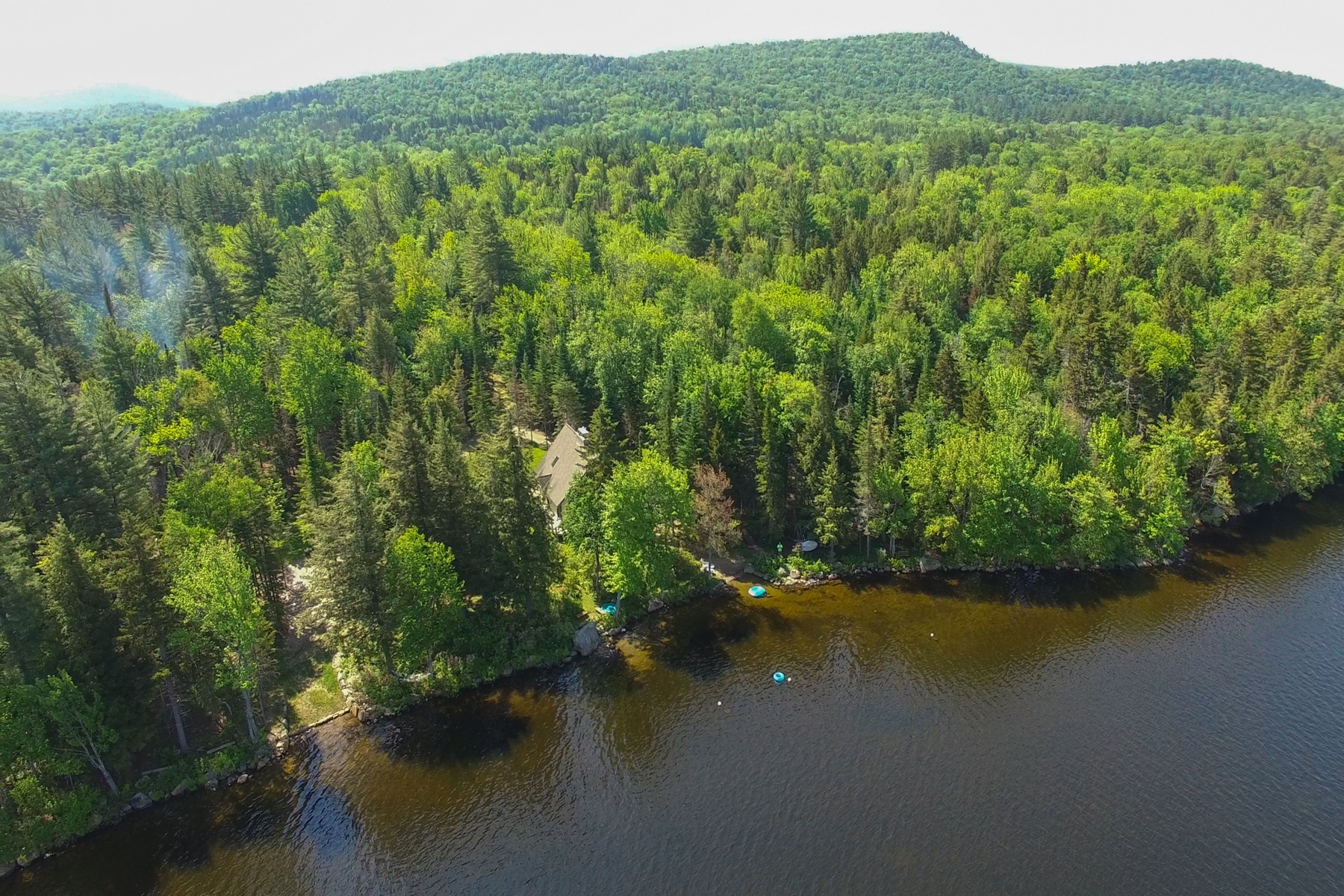 Single Family Home for Sale at Cozy Waterfront Cabin in Lake Pleasant, NY 345 B South Shore Rd Lake Pleasant, New York 12108 United States