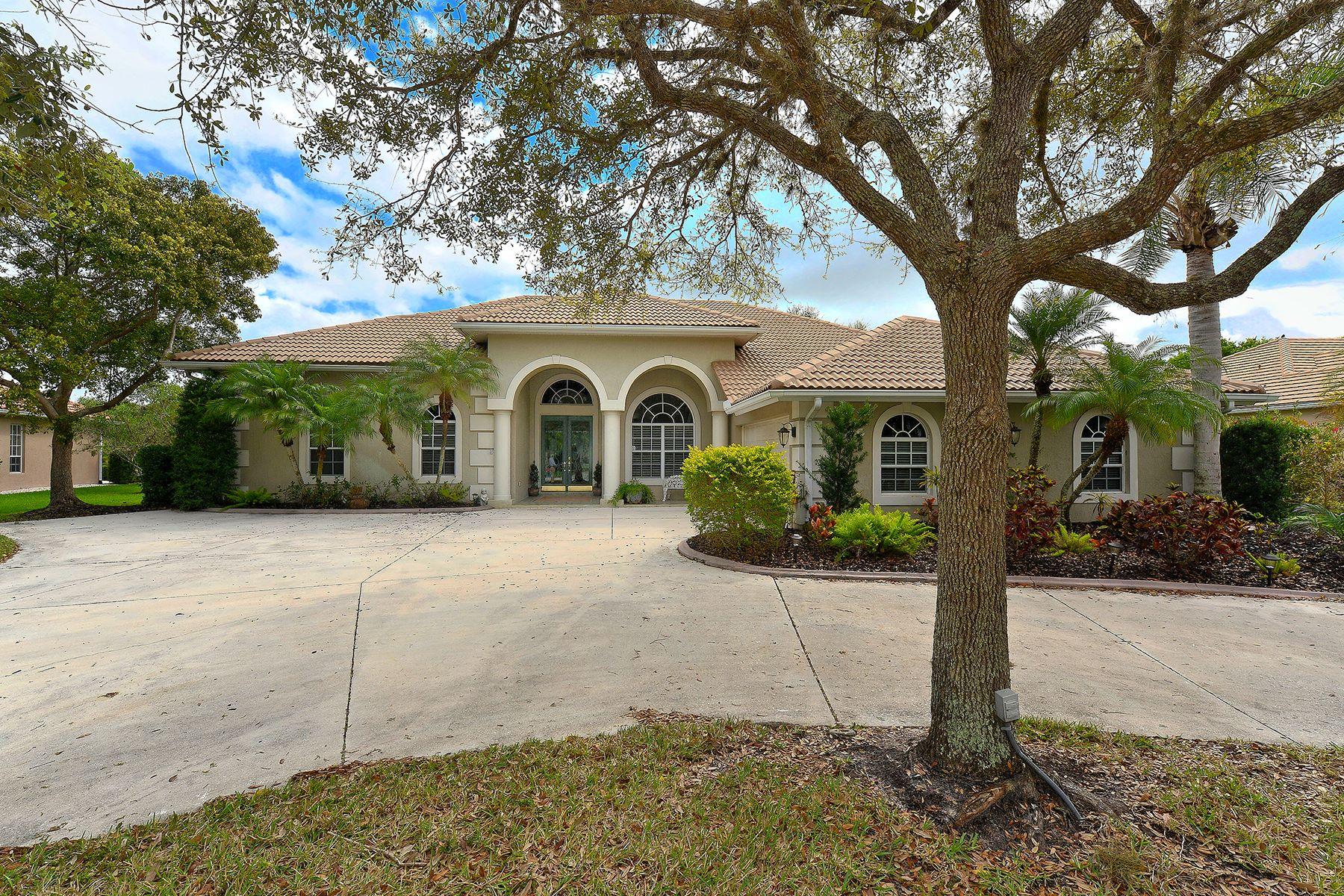 Частный односемейный дом для того Продажа на LAUREL OAK ESTATES 3267 Alex Findlay Pl Sarasota, Флорида, 34240 Соединенные Штаты