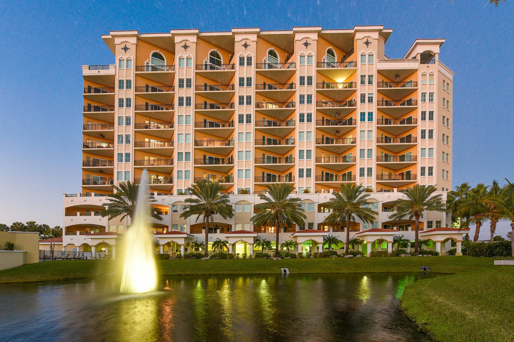 Condominio per Vendita alle ore THE PALMS AT RIVIERA DUNES 501 Haben Blvd 906 Palmetto, Florida, 34221 Stati Uniti