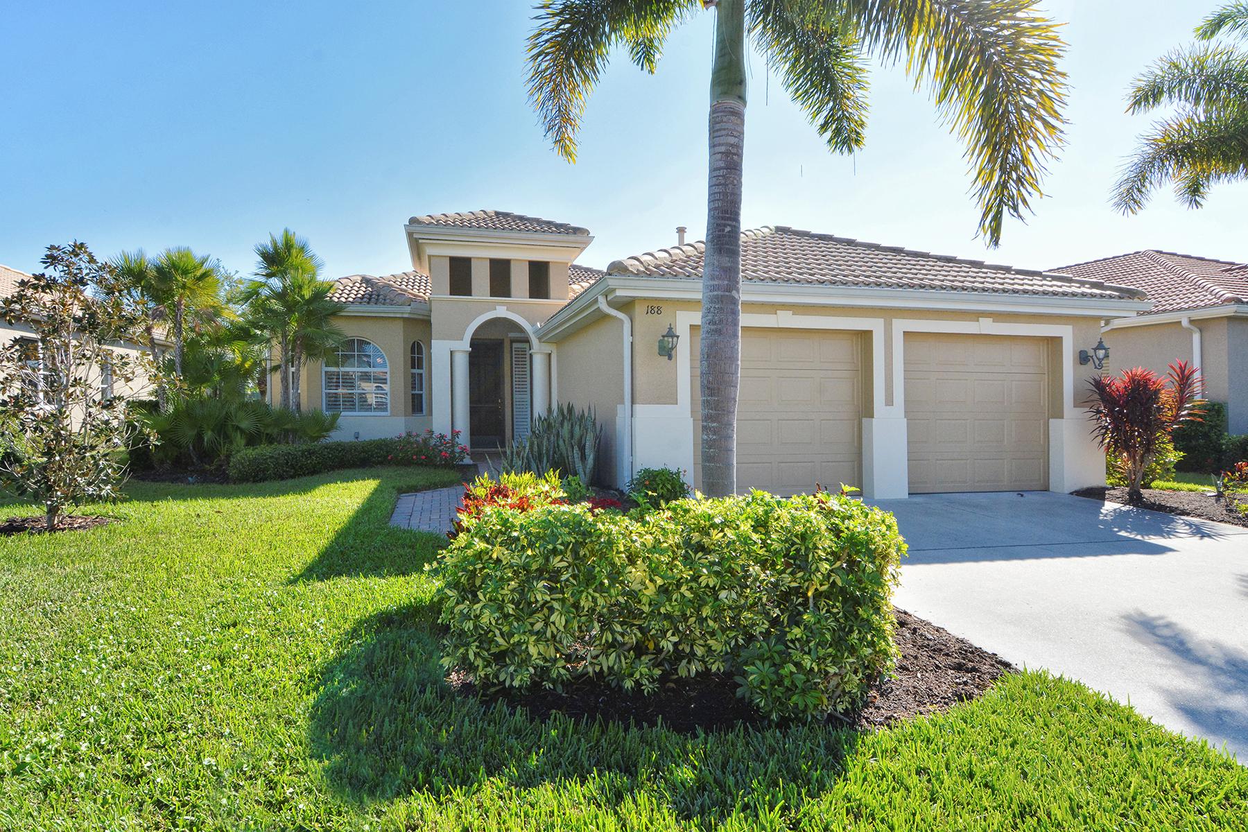 Casa para uma família para Venda às VENETIAN GOLF & RIVER CLUB 188 Savona Way North Venice, Florida, 34275 Estados Unidos