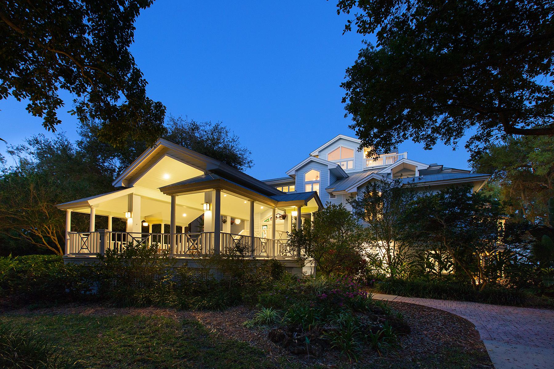 Частный односемейный дом для того Продажа на SIESTA KEY 8501 Midnight Pass Rd Sarasota, Флорида, 34242 Соединенные Штаты