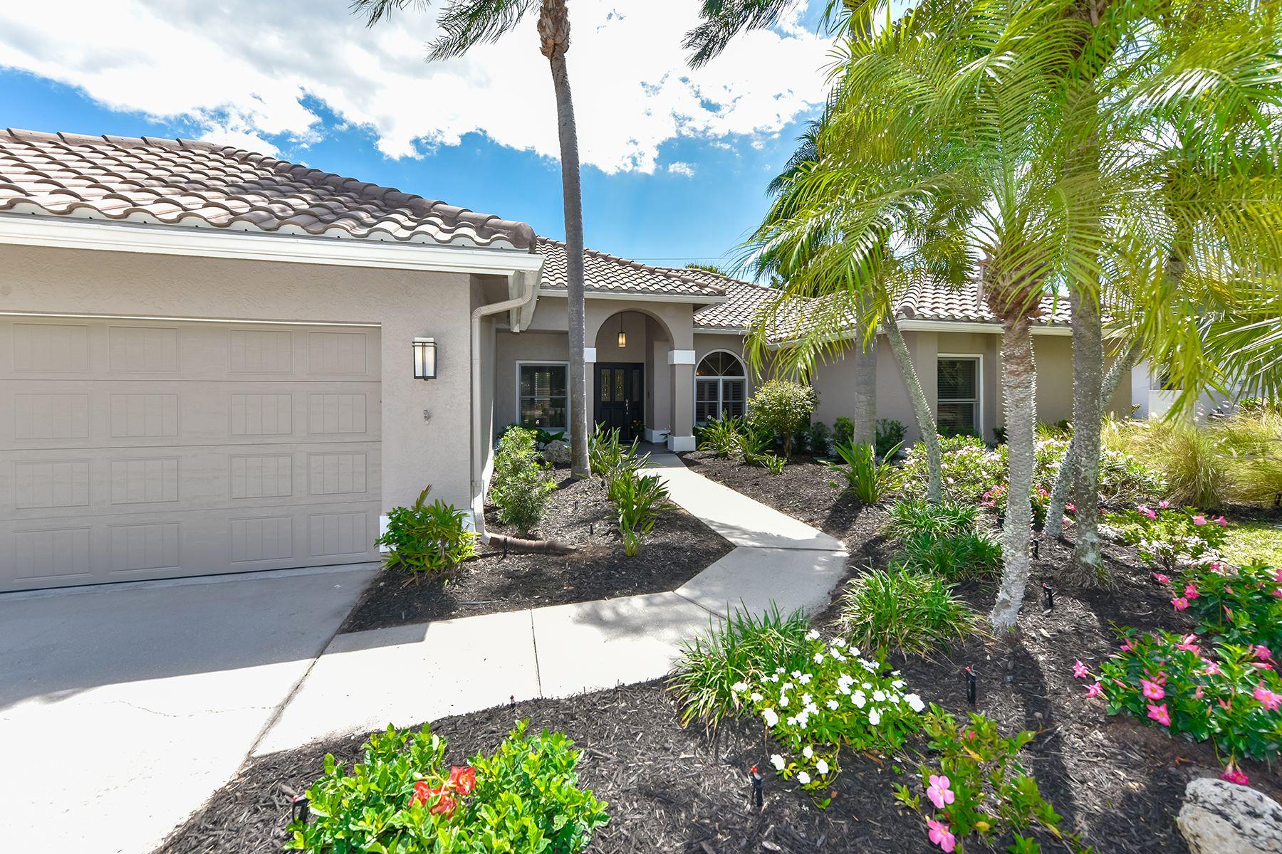 Частный односемейный дом для того Продажа на THE LANDINGS 5161 Flicker Field Cir Sarasota, Флорида, 34231 Соединенные Штаты